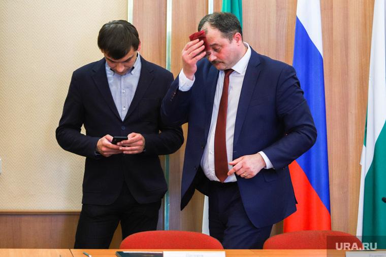 Отставка главы города Сергея Руденко. Курган, прозоров игорь, руденко сергей