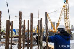 Строительство Общественно-делового центра «Конгресс-холл». Челябинск, арматура, стройка, конгресс-холл