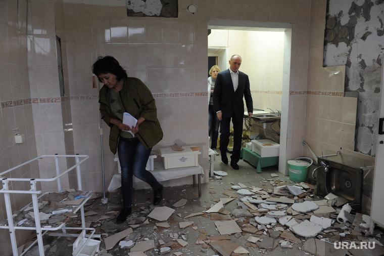 Выезд Бориса Дубровского в Катав-Ивановск после землетрясения. Челябинская область