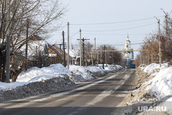 Визит врио губернатора Курганской области Шумкова Вадима в Шадринск, дорога к храму