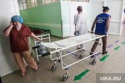 Больницы. Врачи. регистратура. Тюмень, каталка, носилки, больница, скорая медицинская помощь, санитарка