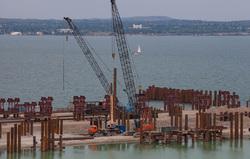 Строительство Керченского моста, керченский мост, крымский мост, строительство моста