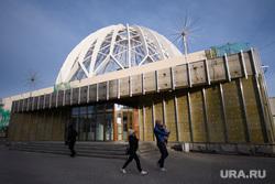 Екатеринбургский цирк на реконструкции, утеплитель, город екатеринбург, екатеринбургский цирк, реконструкция