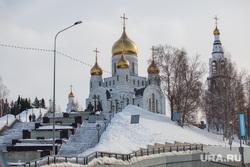 Адресники. Ханты-Мансийск, город ханты-мансийск, храм, православие, собор преображения господня