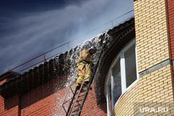 клипарт, крыша, вода, пожарный, пожарная лестница
