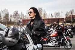 Открытие сезона Harley-Davidson. Екатеринбург, девушка, мотоцикл, harley davidson, байк