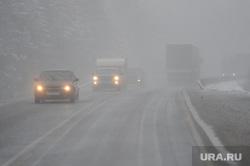 Трасса М5 Дорога Челябинск, снегопад, дорога, неблагоприятные метеоусловия