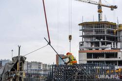 Строительство Общественно-делового центра «Конгресс-холл». Челябинск, стройка, конгресс-холл