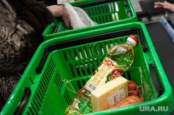 Открытие супермаркета «Перекресток». Екатеринбург, покупатель, продукты, продуктовый магазин, касса, корзина с продуктами, супермаркет, покупка