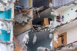 Демонтаж 7-го подъезда дома № 164 на проспекте Карла Маркса. Часть 3. Магнитогорск, руины, разрушенный дом, последствия взрыва