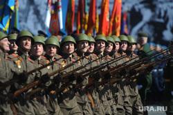 Генеральная репетиция парада на Красной площади. Москва, солдаты, марш, военный парад