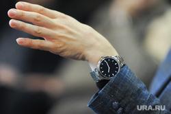 Встреча Владимира Бурматова с политтехнологами. Челябинск, рука, бурматов владимир, пальцы, часы бурматова, четыре пальца
