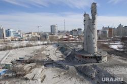 Снос недостроенной телевизионной башни. Екатеринбург, долгострой, развалины, руины, город екатеринбург, недостроенная телебашня, снос телебашни