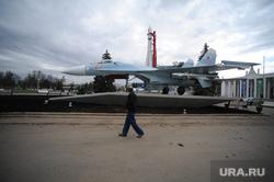 Военная техника на ВДНХ. Москва, самолет, су27, су-27