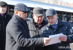 Визит врио губернатора Шумкова в Притобольный  район. Курган, суслов александр