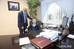 Встреча Шувалова со школьником. Сургут
