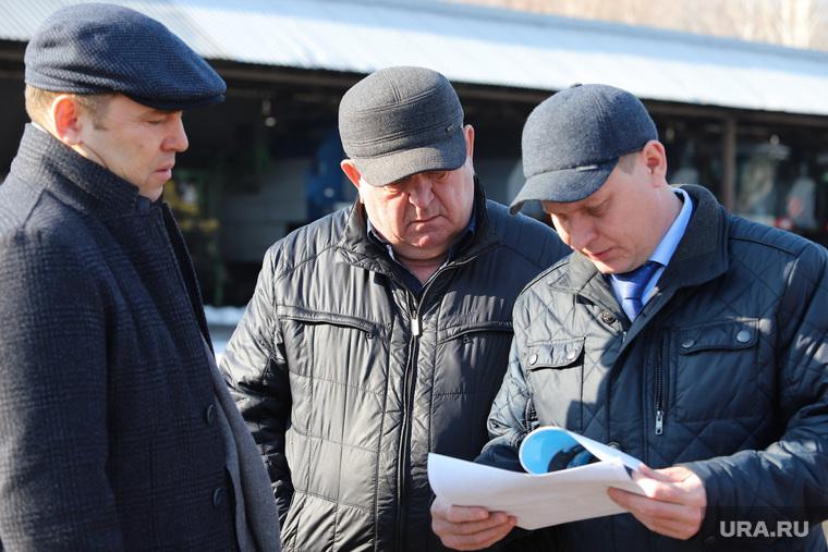 Визит врио губернатора Шумкова в Притобольный  район. Курган