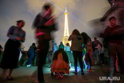 Виды Парижа. Париж, эйфелева башня