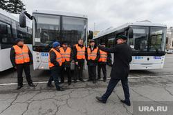 Вручение новых автобусов OOO «Общественный городской транспорт». Челябинск, холод дмитрий