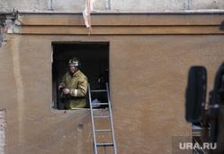 Взрыв бытового газа в доме № 164 на проспекте Карла Маркса. Часть 7. Магнитогорск, лестница, окно, мчс, трагедия в магнитогорске, эпицентр взрыва, квартира 315