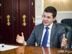 Интервью с врио губернатора ЯНАО Дмитрием Артюховым. Салехард, портрет, артюхов дмитрий, жест двумя руками
