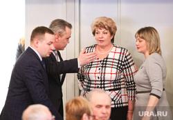 Первое выступление зам губернатора по соц политике Менщиковой Татьяны. Курган, менщикова татьяна