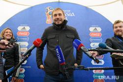 Открытие футбольного парка в Историческом сквере Екатеринбурга, шипулин антон