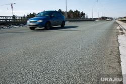 Дороги города через год после замены полотна. Сургут  , транспортная развязка, дорога