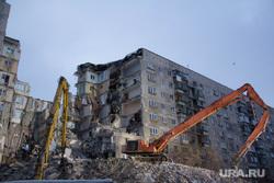 Демонтаж 7-го подъезда дома № 164 на проспекте Карла Маркса. Часть 4. Магнитогорск, демонтаж подъезда