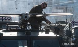 Парад Победы. Екатеринбург, военные, подготовка, помывка, беспилотник, мытье машины