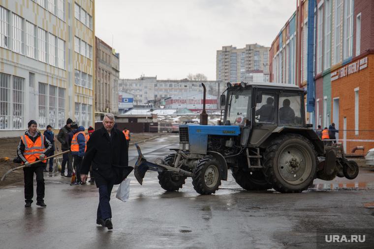 Подготовка ПАО Морион к приезду Дмитрия Медведева. Пермь
