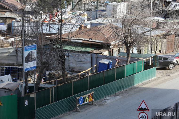 Строительство дома по ул. Смоленская, ул. Кузнецова. Тюмень