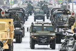 Репетиция парада на 2-ой Новосибирской. Екатеринбург, военная техника, репетиция парада