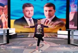 Телеведущая Скабеева предложила провести дебаты Зеленского и Порошенко