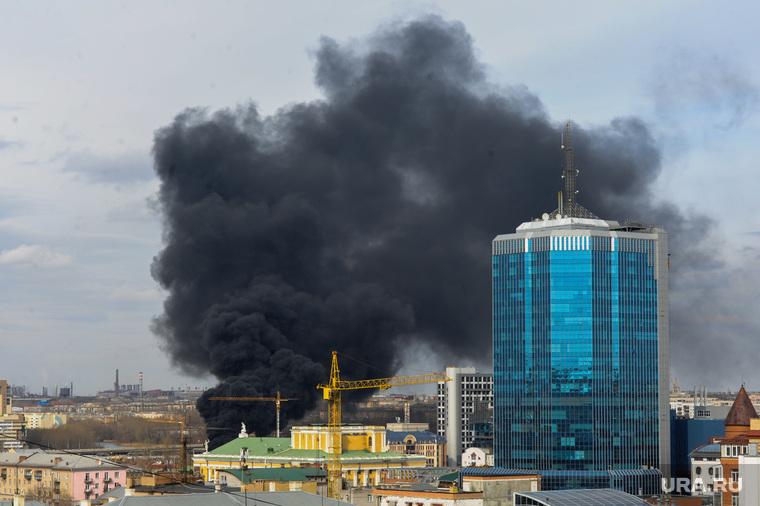Пожар. Челябинск