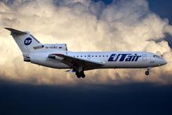 Як-42Д авикомпании UTair (Архивный снимок), utair, як 42, авиаперевозчики, самолет