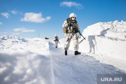Евгений Куйвашев в Хомутовке., зима, стрельбы, учения, армия, военные, солдаты, показательные выступления