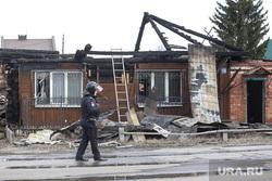Дом по Амурской улице д. 118. Тюмень, теракт, разрушенный дом, полиция