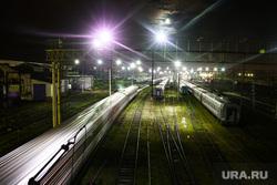 Виды Перми, вокзал, поезда, вагон, ржд