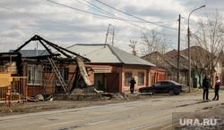 Улица Амурская, дом 118. Тюмень, разрушенный дом, улица амурская 118