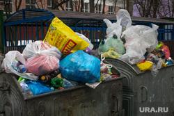 Виды на Храм Христа Спасителя. Москва, мусор, мусорные баки, мусорка, помойка, бытовые отходы