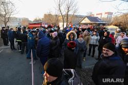 Пожар в общежитии. Челябинск, эвакуация жильцов