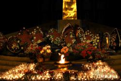 Свеча Памяти  Курган, вечный огонь, свеча памяти