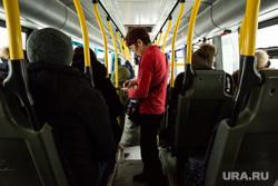 Автобусы и автобусные остановки. Сургут, кондуктор, автобус, оплата проезда