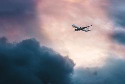 Самолеты клипарт, полет, самолет