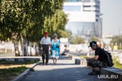 Жизнь Екатеринбурга в жару, лето, отдых горожан, екатеринбуржцы