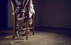 Клипарт депозитфото, заложник, садизм, связанные руки, пытка, причинять боль