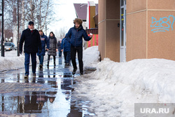 Прогулка по городу блогера Ильи Варламова и главы города Шувалова Вадима. Сургут, лужа, варламов илья, шувалов вадим