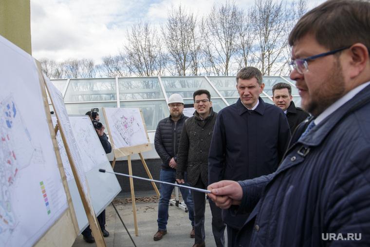 Губернатор Решетников с  проверкой в новом зоопарке. Пермь