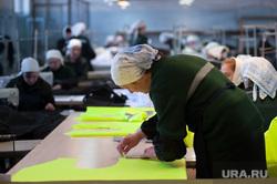 Швейное производство в женской исправительной колонии ФКУ ИК-6 ГУФСИН. Свердловская область, Нижний Тагил , швейный цех, исправительная колония6, женская колония, ик-6